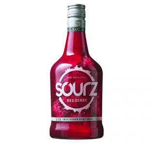 Foto Sourz red 0.7l